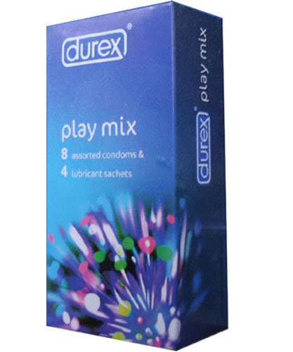 Gel Bi Trn m o: Gel bi trn m o Durex Play Mix